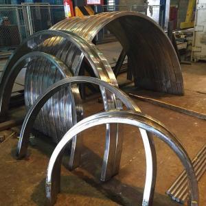Calandragem de perfis de aluminio