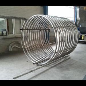 Curvar tubos de aço inox