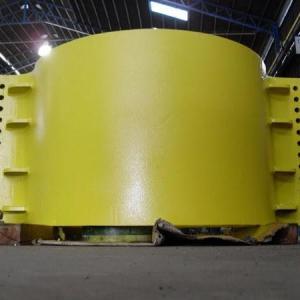 Fabricação de caldeiraria pesada