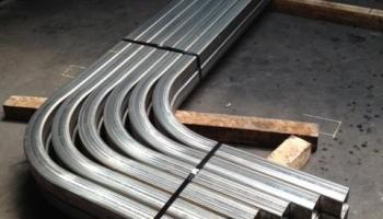 Calandragem de tubos de aluminio